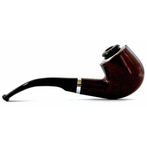 Πίπα Καπνού με Μεταλλικό Καυστήρα και Μηχανικό Φίλτρο Durable Tobacco Pipe ZHAOFA