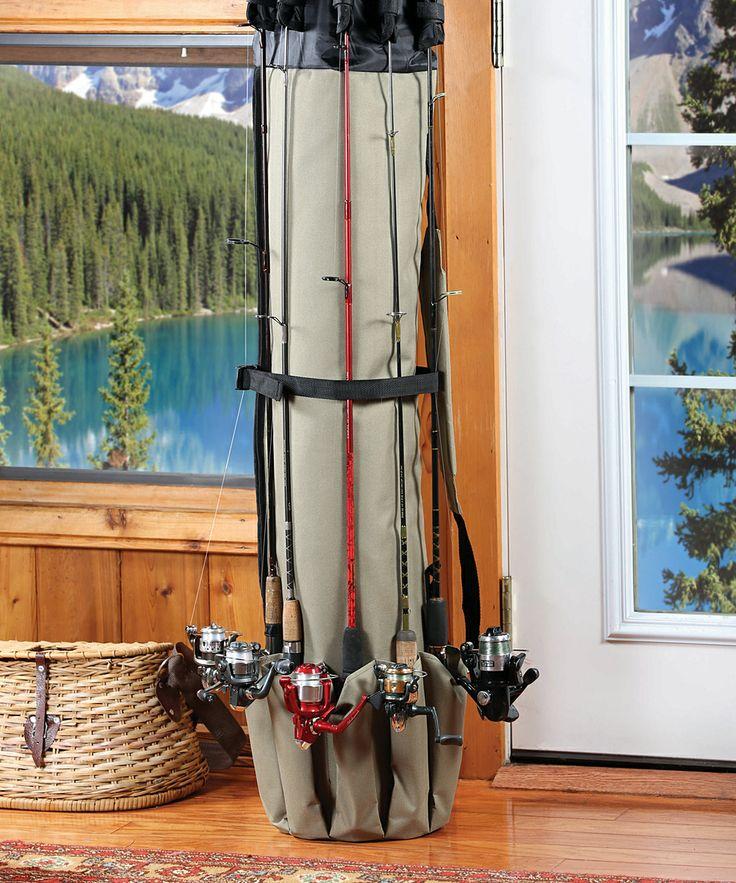 Θήκη καλαμιών ψαρέματος με 5 θέσεις Fishing Rod Organizer CRZ-60
