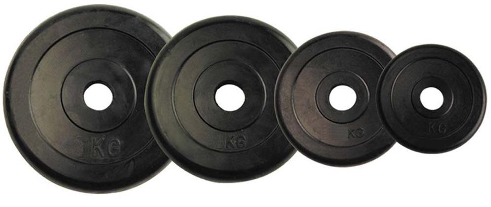 Δίσκοι Άρσης Βαρών Μαύροι 20 kgr