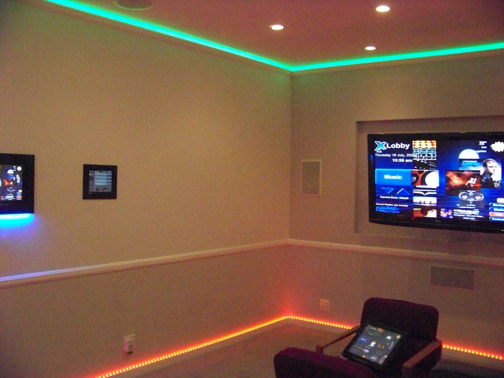 Αδιάβροχη Ταινία LED 5 μέτρων RGB 5050 SMD 14,4W High Power 12V με τηλεχειριστήριο OEM