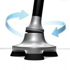Αναδιπλούμενο Εργονομικό μπαστούνι με φακό MAGIC CANE