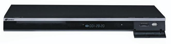 ​DVD player FULL HD 1080p Sansui DVX-3000
