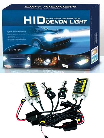 Φώτα XENON H4 6000 αυτοκινήτου - πλήρες κιτ H.I.D. 6000k (Λευκό φως)