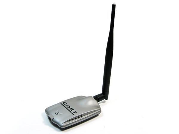 Κάρτα ασύρματου δικτύου USB WiFi πολύ ισχυρής λήψεως για δωρεάν internet G-SKY USB WIFI ADAPTER 802.11G GS-27USB-50