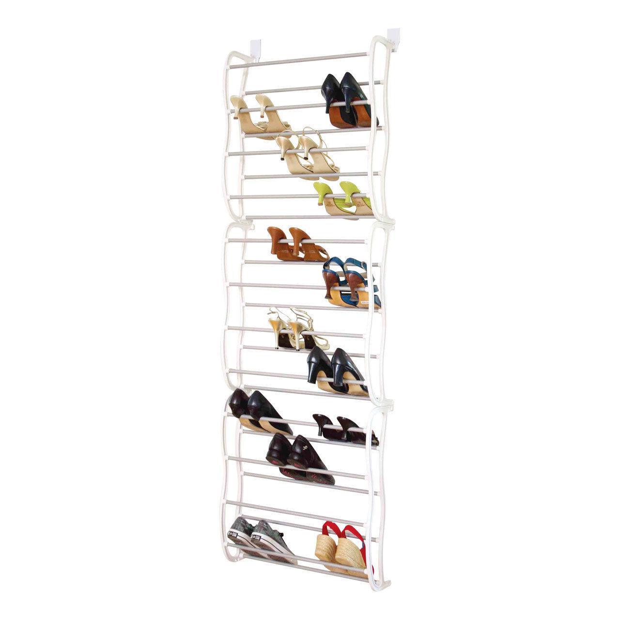 Κρεμαστή Παπουτσοθήκη Πόρτας 36 Ζευγαριών Door Shoe Rack