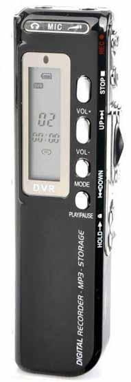 Mini Καταγραφικό Ήχου με μνήμη εγγραφής 560 ώρες & δυνατότητα καταγραφής τηλεφωνικών κλήσεων OEM 2012