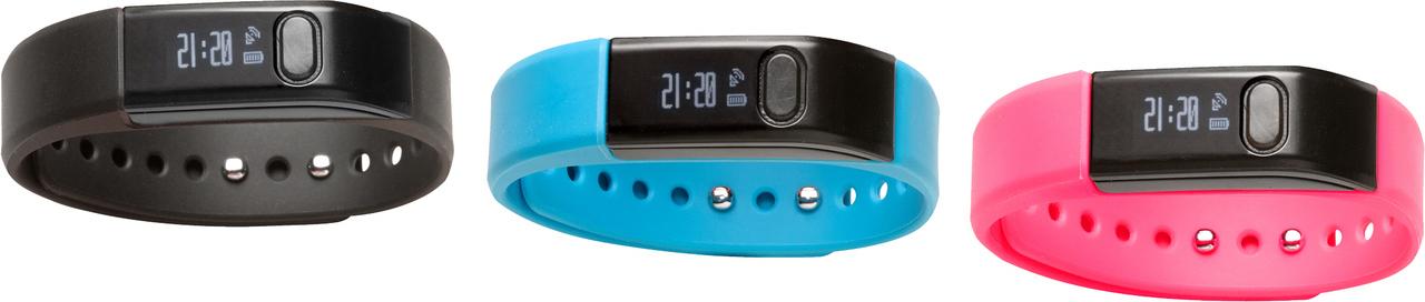 Ρολόι βραχιόλι γυμναστηρίου Fitnessband με λειτουργία Bluetooth 4.0 DENVER FITNESSBAND BFA 10C