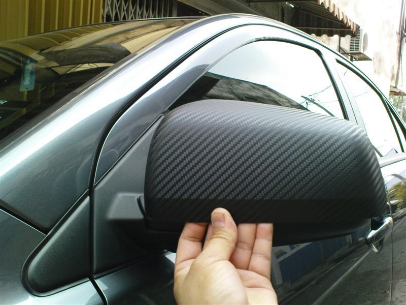 Ταινία προστατευτική 152×180cm 3D Carbon Fiber Film W-FA