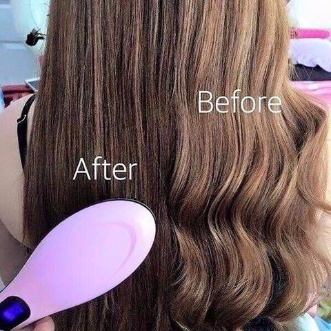 Θερμαινόμενη Βούρτσα Μαλλιών για Ταχύτατο Ίσιωμα Fast Hair Straightener HQT- 906 7e8d51375a0