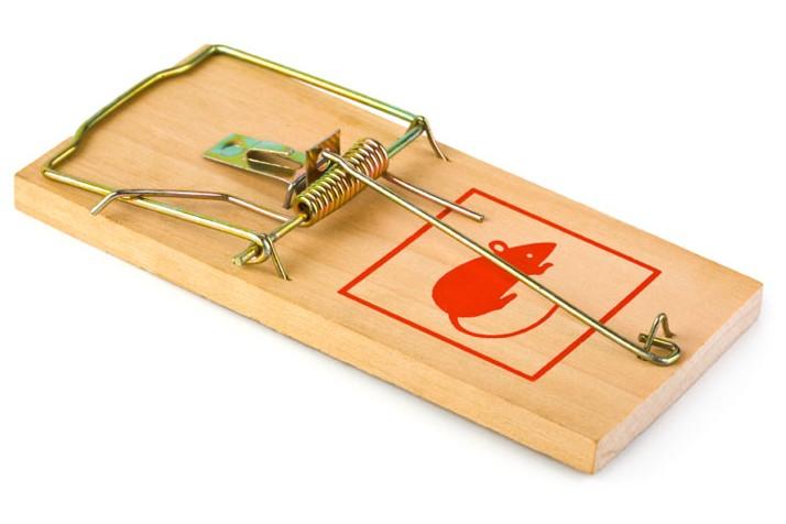 Φάκα για ποντίκια ξύλινη Mouse Trap BORAX