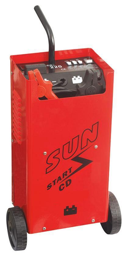 Φορτιστής – Εκκινητής μπαταρίας αυτοκινήτου με μίζα SUN CD-320