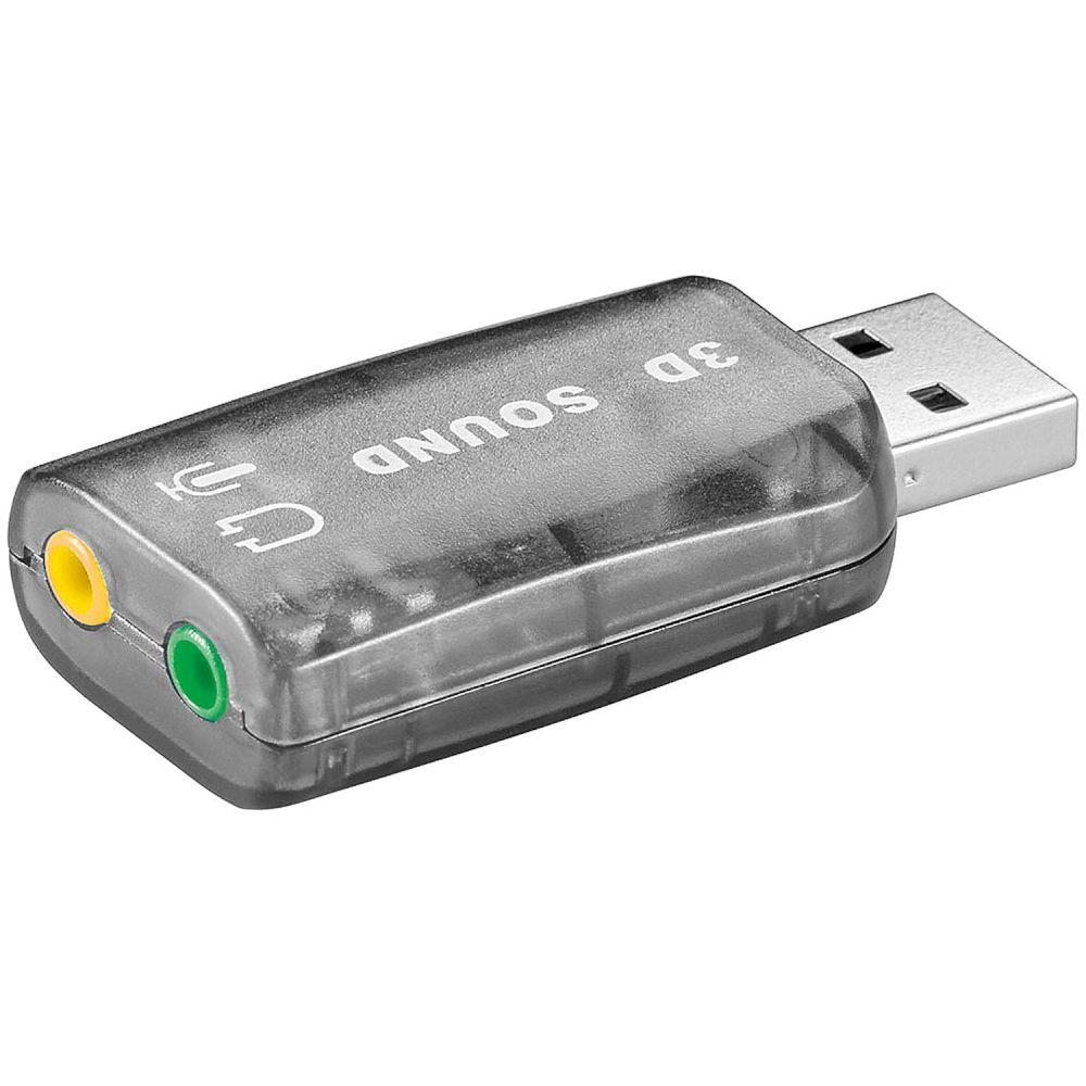 Κάρτα ήχου USB 5.1 3D Goobay