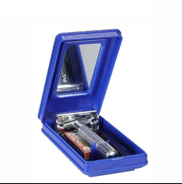 Κλασική Ξυριστική Μηχανή από Ανοξείδωτο ατσάλι & Θήκη ταξιδίου Tianma TM-997