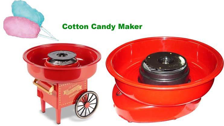 Μηχανή για Μαλλί της Γριάς Cotton Candy Maker