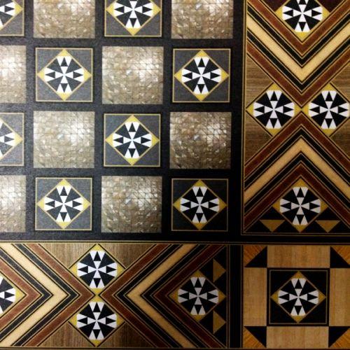 Τάβλι - σκάκι φορμάικα τύπου φίλντισι 50 x 50cm
