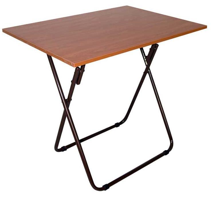 Τραπέζάκι αναδιπλούμενο μελαμίνης 60X100 cm ηλεκτροστατικής βαφής Ελληνική Κατασκευής Nardimaestral