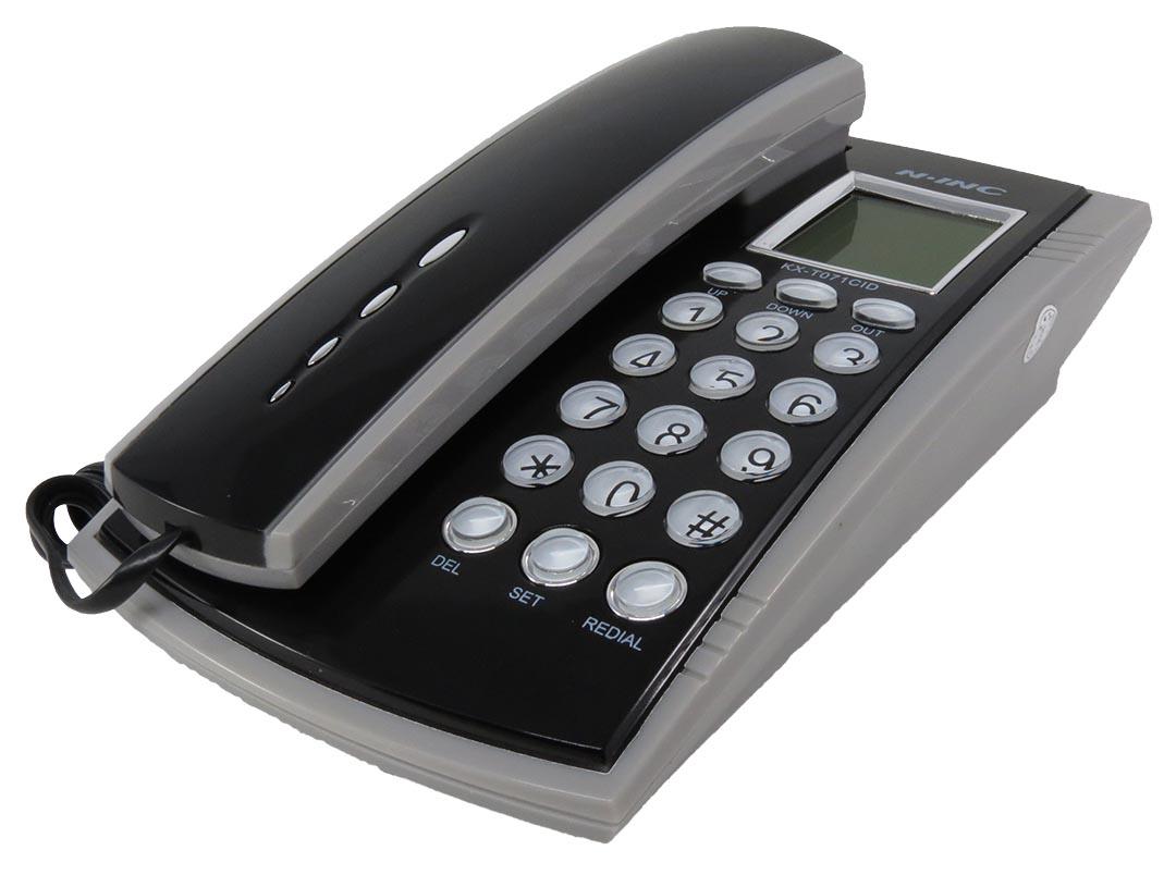 Τηλέφωνο με οθόνη N-INC KX-T071CID