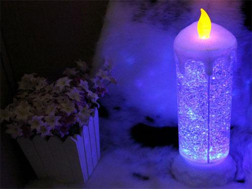 Διακοσμητικό φωτιζόμενο LED κερί Amazing Colorful USB LED Candle