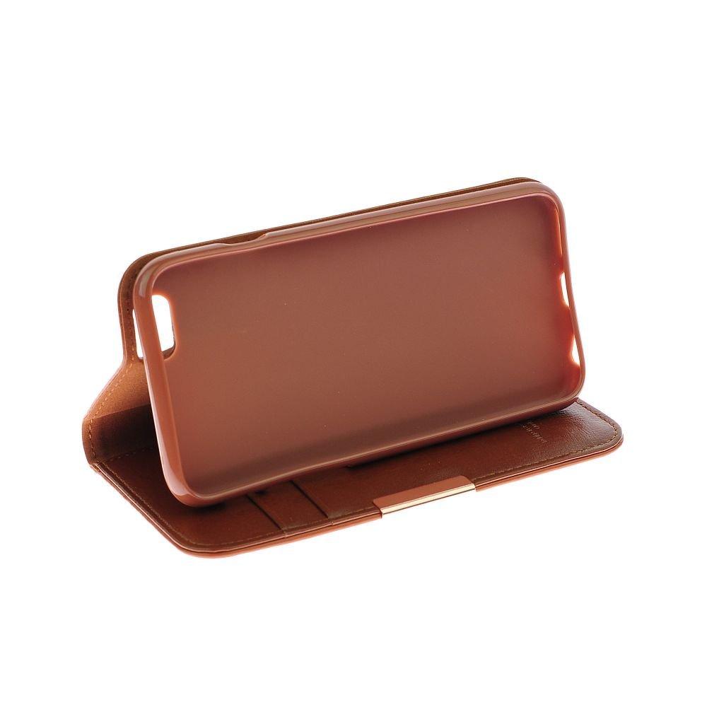 Θήκη για κινητό Samsung Galaxy Note 4 από γνήσιο δέρμα Kalaideng Royale II Brown