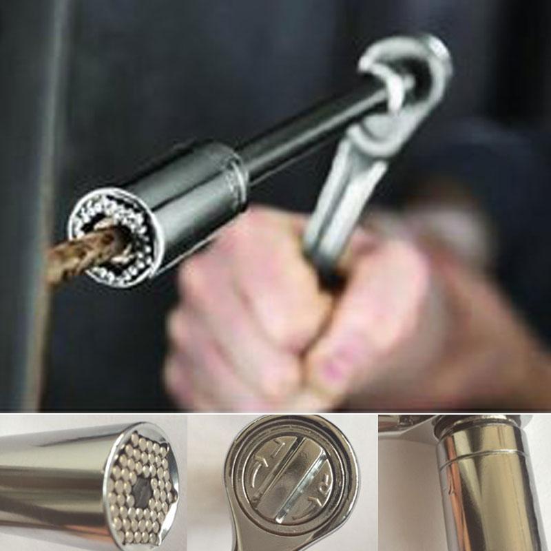 Πολυκαρυδάκι Πολύκλειδο 7-19mm Με Καστάνια Gator Grip CAB25 OEM