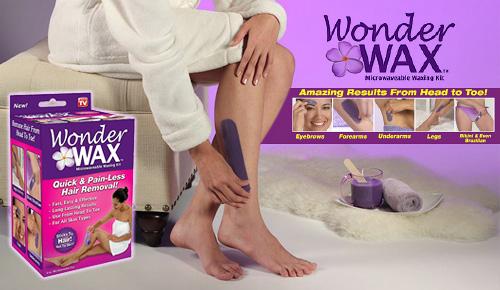 Αποτρίχωση με κερί μέλισσας γρήγορη και ανώδυνη που διαρκεί WONDER WAX 00d8516620e