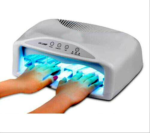 Επαγγελματικό Φουρνάκι Νυχιών με 6 Λάμπες UV για Ημιμόνιμο μανικιούρ 54W Pro Gel 820 OEM