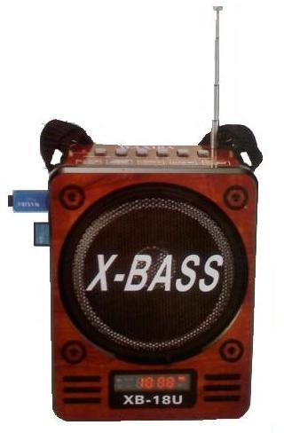 Φορητό Ραδιόφωνο Mp3 player / radio με ηχείο 1.5w X-BASS SOMITEC XB-18U
