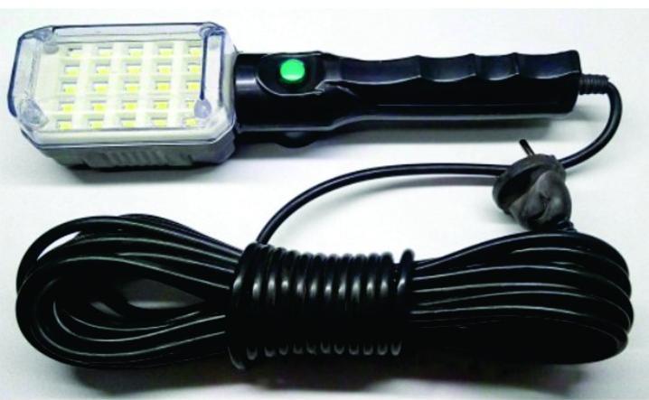 Μπαλαντέζα Εργασίας με 25 Ισχυρά LED, Μαγνητική Πλάτη & 10μ Καλώδιο 25L OEM