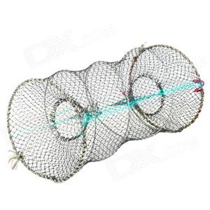 Παγίδα για ψάρια - κιούρτος 90x50cm στογγυλή πτυσσόμενη OEM 9050
