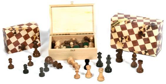 Πιόνια για σκάκι didatto πλαστικά μπεζ καφέ 85mm
