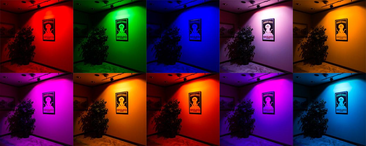 Προβολέας RGB LED 20W Αδιάβροχος με Τηλεχειρισμό & Εναλλασσόμενο Πολύχρωμο Φωτισμό OEM 4120
