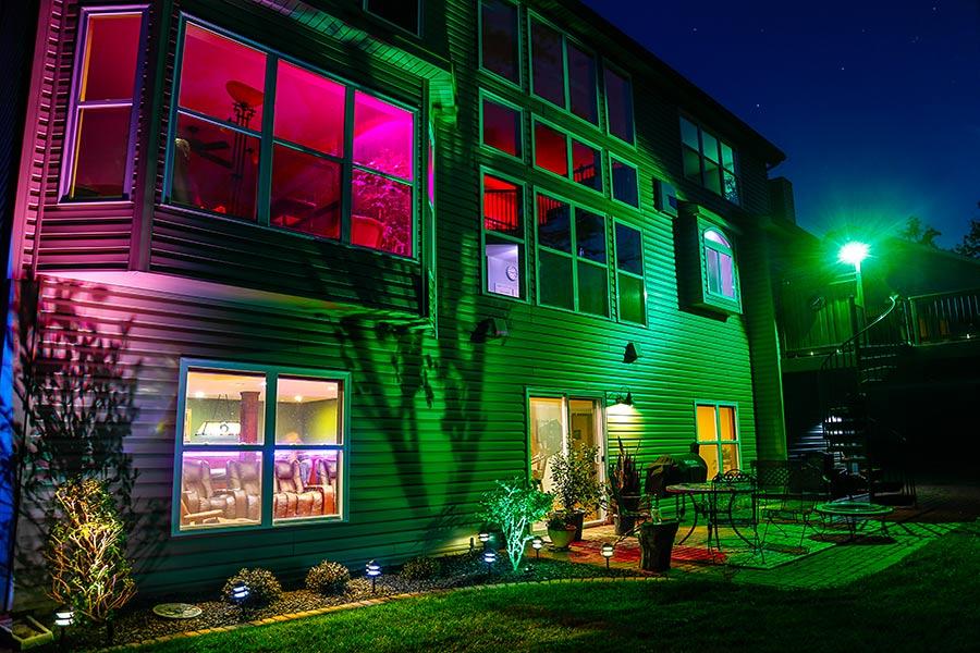 Προβολέας RGB LED 50W Αδιάβροχος με Τηλεχειρισμό & Εναλλασσόμενο Πολύχρωμο Φωτισμό OEM 4150