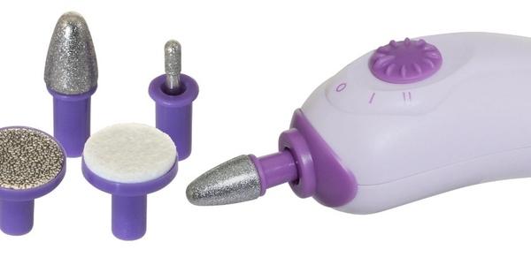 Σετ Μανικιούρ Πεντικιούρ ασύρματη συσκευή με 6 Εξαρτήματα Keeping Nail Health SA-2004 OEM
