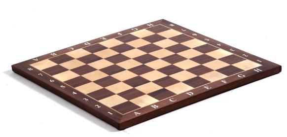 Σκακιέρα απo καρυδιά 35x35x1cm