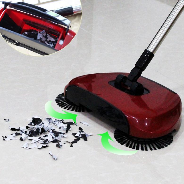 Σκούπα καθαρισμού με κυλινδρική βούρτσα JIAJIE 360 Hand Propelled Sweeper