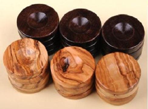 Πούλια από ξύλο ελιάς μεγάλα black