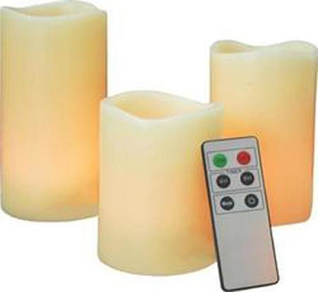 Αρωματικά Κεριά Με Led Φωτισμό και Ρύθμιση με Χειριστήριο OEM