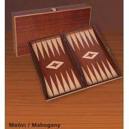 Ξύλινο Τάβλι  Μαόνι μονόχρωμο μεγάλο 48 Χ 50 cm