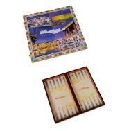 Ξύλινο Τάβλι Κρητικό  μεγάλο 48 Χ 50 cm