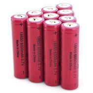 Επαναφορτιζόμενη μπαταρία λιθίου 18650 6000mAh 3.7V OEM SIBORUI 42