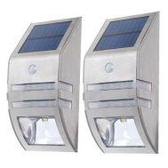 Ηλιακό Φωτιστικό Inox με Αισθητήρα Κίνησης & Φωτός OEM 08Ν