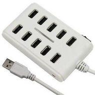 Hub 10 Θυρών με Διακόπτh Οn/Off 10-Port USB 2.0 OEM H10-1009