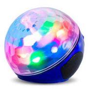 Λάμπα επαναφορτιζόμενη έγχρωμη Bluetooth και Mp3 Player μπλε OEM WS-635BT