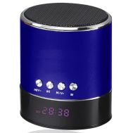 Mini Bluetooth Multimedia Speaker Player Hands Free μπλέ OEM WS-633B1