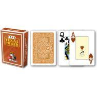 Τράπουλα πλαστική καφέ Modiano Texas Poker