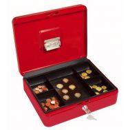 Φορητό κουτί ταμείου μεταλλικό με κλειδαριά 25 X 20 x 9 cm OEM 104138