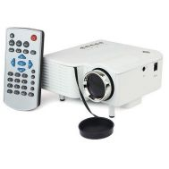 Φορητός Προβολέας άσπρος Mini Led HD Star View Multimedia Projector UC28+ HDMI OEM GP-1
