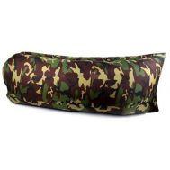 Φουσκωτός καναπές Στρώμα & Κάθισμα Ξαπλώστρα σε χρώμα παραλλαγής Lazy Bag Inflatable Air Sofa
