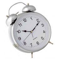 Ρολόι ξυπνητήρι μεταλλικό 11,5 x 17 cm με φως Quartz 620