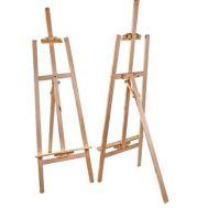 Καβαλέτο ζωγραφικής ξύλινο 175x45cm Foska